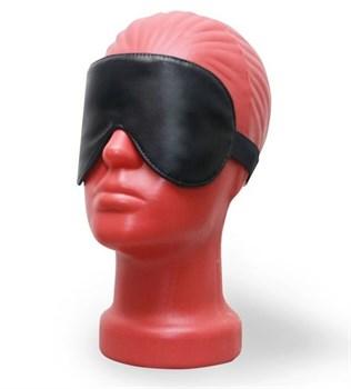 Светонепроницаемая маска на глаза из эко-кожи