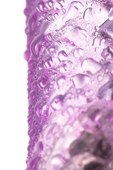 Фиолетовый вибратор High-Tech fantasy - 22,5 см.