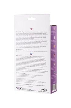 Фиолетово-чёрный набор вагинальных шариков TOYFA A-toys