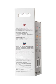 Прозрачная насадка на пенис TOYFA A-Toys - 15,5 см.