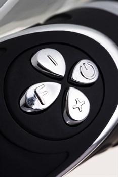 Чёрный анальный вибростимулятор Erotist - 20,7 см.