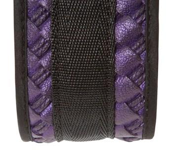 Чёрно-фиолетовый набор для бондажа Bondage Set