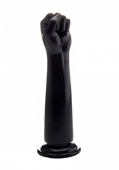 Чёрный кулак для фистинга Fisting Power Fist - 32,5 см.
