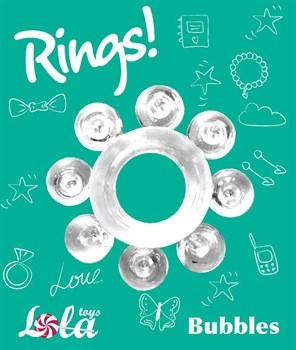 Прозрачное эрекционное кольцо Rings Bubbles