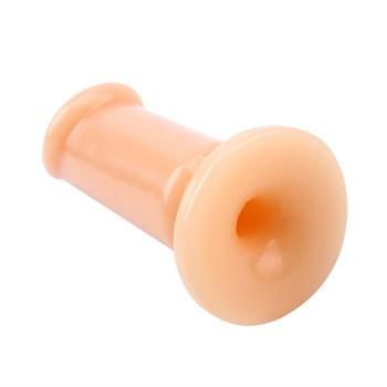 Телесный анальный плаг Medium Slim Dildo - 12,5 см.