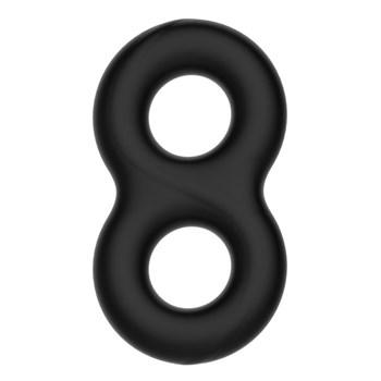 Двойное эластичное эрекционное кольцо Super Soft Silicon