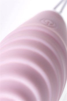 Нежно-розовый набор VITA: вибропуля и вибронасадка на палец