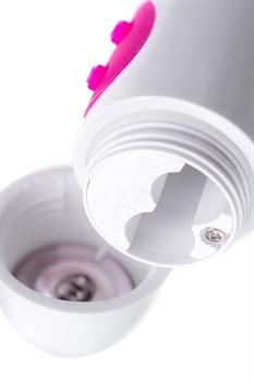 Розовый вибратор A-Toys Mika - 19,8 см.