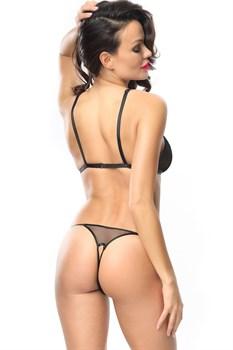 Комплект с сексуальными трусиками и эффектным бюстом Gabrielle