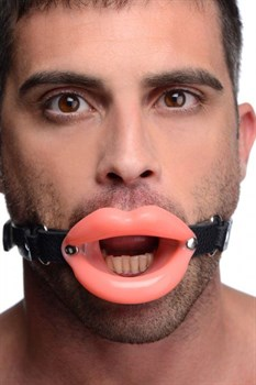 Кляп в форме губ Sissy Mouth Gag