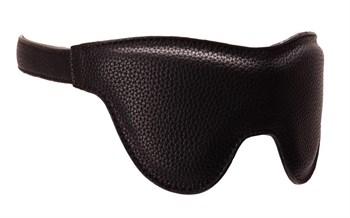 Плотная маска на глаза на регулируемых ремешках