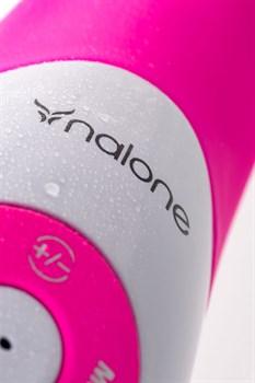 Розовый вибратор Nalone Pulse - 21 см.