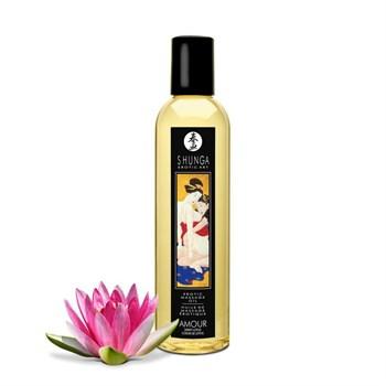 Массажное масло с ароматом цветков лотоса Amour Sweet Lotus - 250 мл.