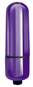 Фиолетовая вибропуля Mady - 6 см.