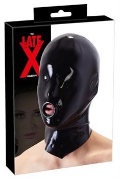 Шлем-маска на голову с отверстием для рта
