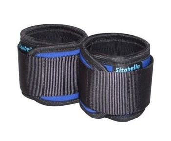 Сине-черные неопреновые наручники