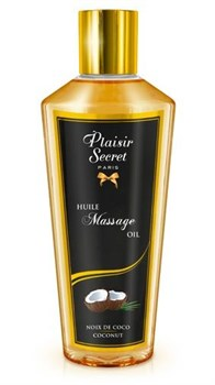 Массажное масло для тела с ароматом кокоса - 250 мл.