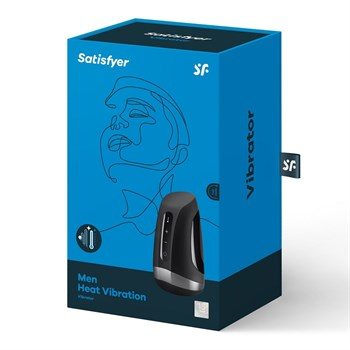 Мастурбатор Satisfyer Men Heat Vibration с подогревом и вибрацией