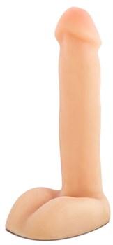 Телесный фаллоимитатор Dayo - 21,6 см.