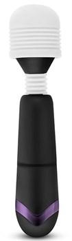 Черно-белый жезловый вибратор CUTE