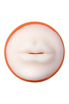 Мастурбатор-ротик A-Toys в оранжевой колбе