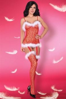 Обольстительный комбинезон в рождественском стиле Catriona Christmas
