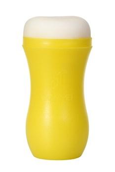 Мастурбатор-анус A-Toys в желтой колбе