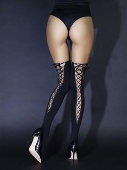 Чулки со шнуровкой сзади