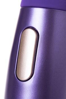 Фиолетовый вибратор Le Stelle PERKS SERIES EX-1 с 2 сменными насадками
