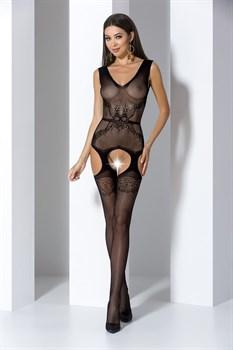 Сексуальный комбинезон с имитацией пояса на талии