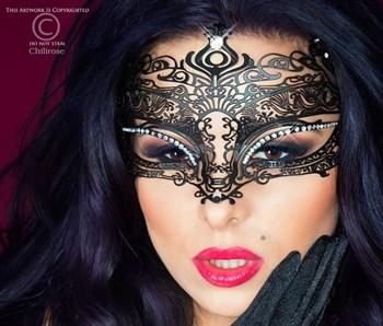 {{photo.Alt || photo.Description || 'Фигурная чёрная маска Mysterious Mask'}}