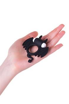 Черное эрекционное кольцо на пенис JOS COCKY DEVIL
