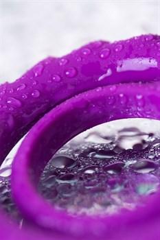 Фиолетовое эрекционное кольцо на пенис JOS  GOOD BUNNY