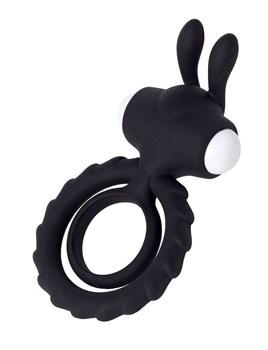 Черное эрекционное кольцо на пенис JOS  BAD BUNNY