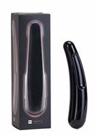 Чёрный многоскоростной дизайнерский вибромассажёр Saber - 17,5 см. - фото 175978