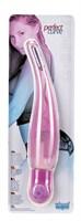 Розовый вибромассажёр PERFECT CURVE - 16 см. - фото 312837