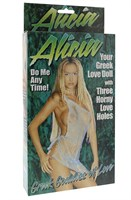 Надувная секс-кукла ALICIA LOVE DOLL - фото 204700
