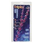 Цепочка фиолетовых анальных шариков - фото 129956