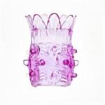 Насадка на фаллос розовая - фото 511139