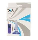 Анальная пробка с встраиваемой вибропулькой - 10 см. 881301 ToyFa - фото 663621