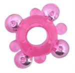 Эрекционное кольцо c бусинками - фото 228092