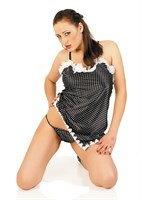 Мини-платье с трусиками - фото 125700