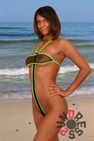Экстремальный купальник Лилу D2U (сетка) Топ А103 - фото 1268052