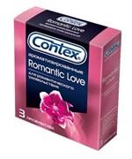 Презервативы с ароматом CONTEX Romantic - 3 шт. - фото 176548