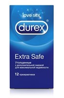Утолщённые презервативы Durex Extra Safe - 12 шт. - фото 384408