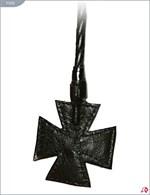 Стек витой с наконечником-крестом - 85 см. - фото 188498