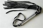 Флоггер с металлической ручкой - фото 313345
