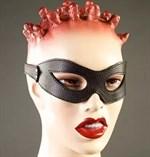 Черные кожаные очки - фото 631449