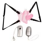 Бабочка для клитора с беспроводным управлением - фото 511810