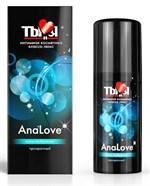 Анальный силиконовый лубрикант AnaLove - 50 гр. - фото 313753